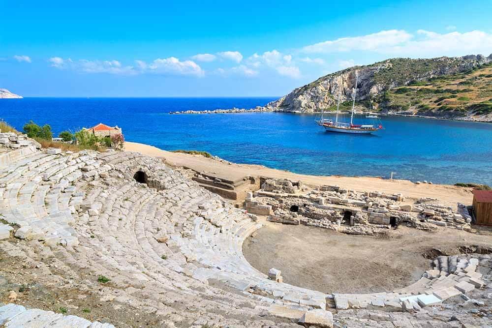 Roman Ruins in Turkey