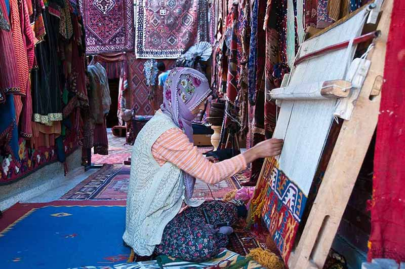 The Local Handcrafts in Anatolia