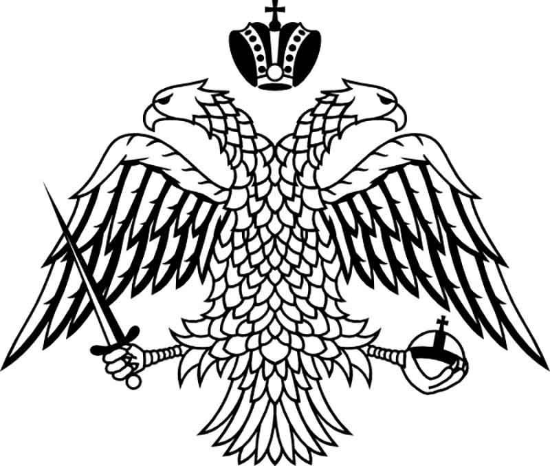 Double headed eagle Byzantine Empire