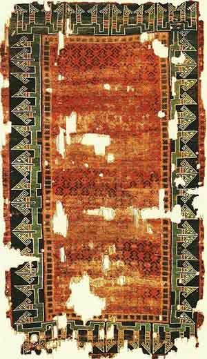 Turkish Carpet in Seljuk